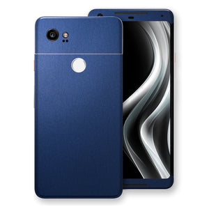 Google Pixel 2 XL Deep Ocean Blue Matt Skin Wrap Decal Protector | EasySkinz