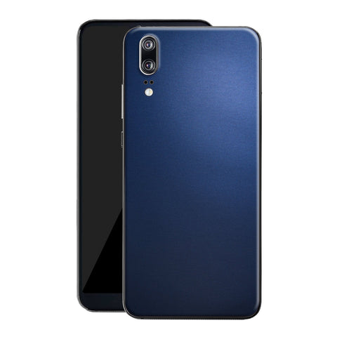 Huawei P20 Deep Ocean Blue Matt Skin, Decal, Wrap, Protector, Cover by EasySkinz | EasySkinz.com
