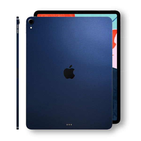 iPad PRO 11-inch 2018 Matt Matte Deep Ocean Blue Skin Wrap Sticker Decal Cover Protector by EasySkinz
