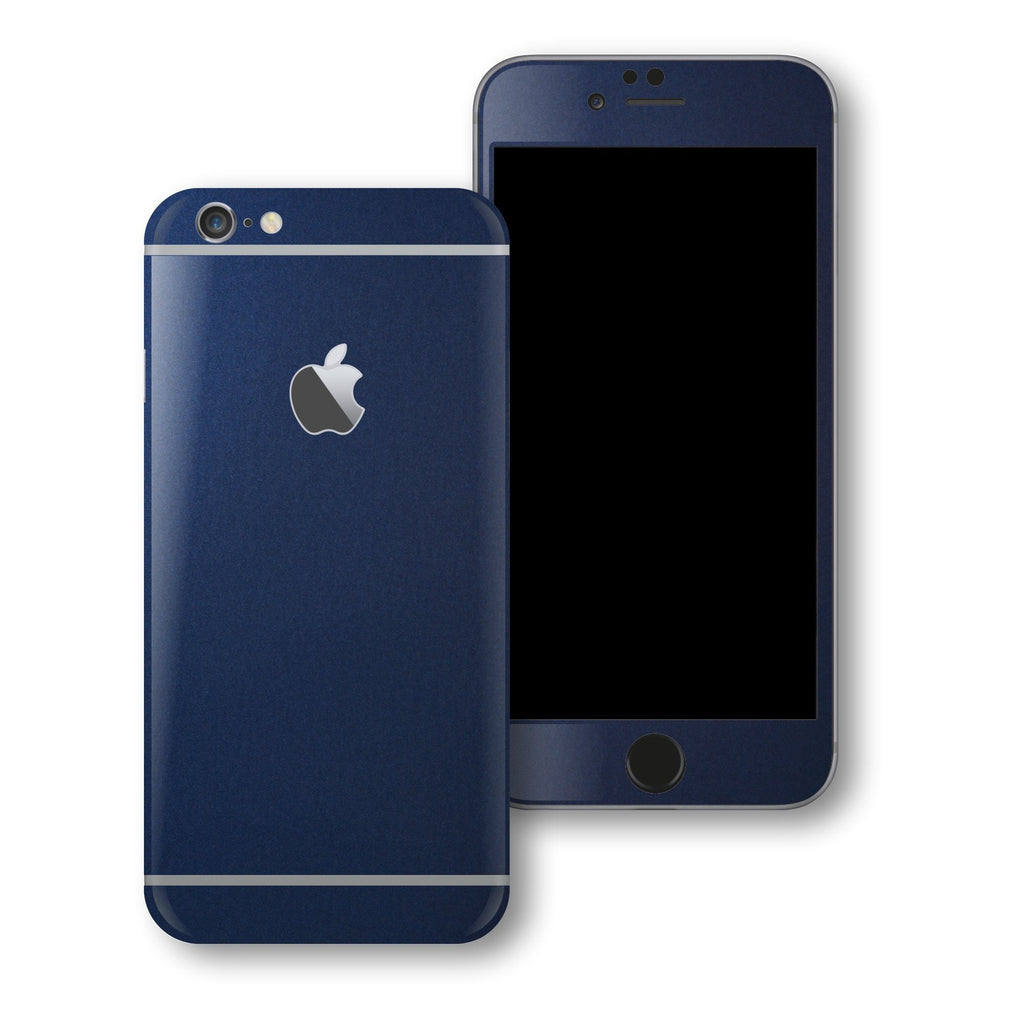 iPhone 6S PLUS Deep Ocean Blue Matt Skin Wrap Decal Protector | EasySkinz