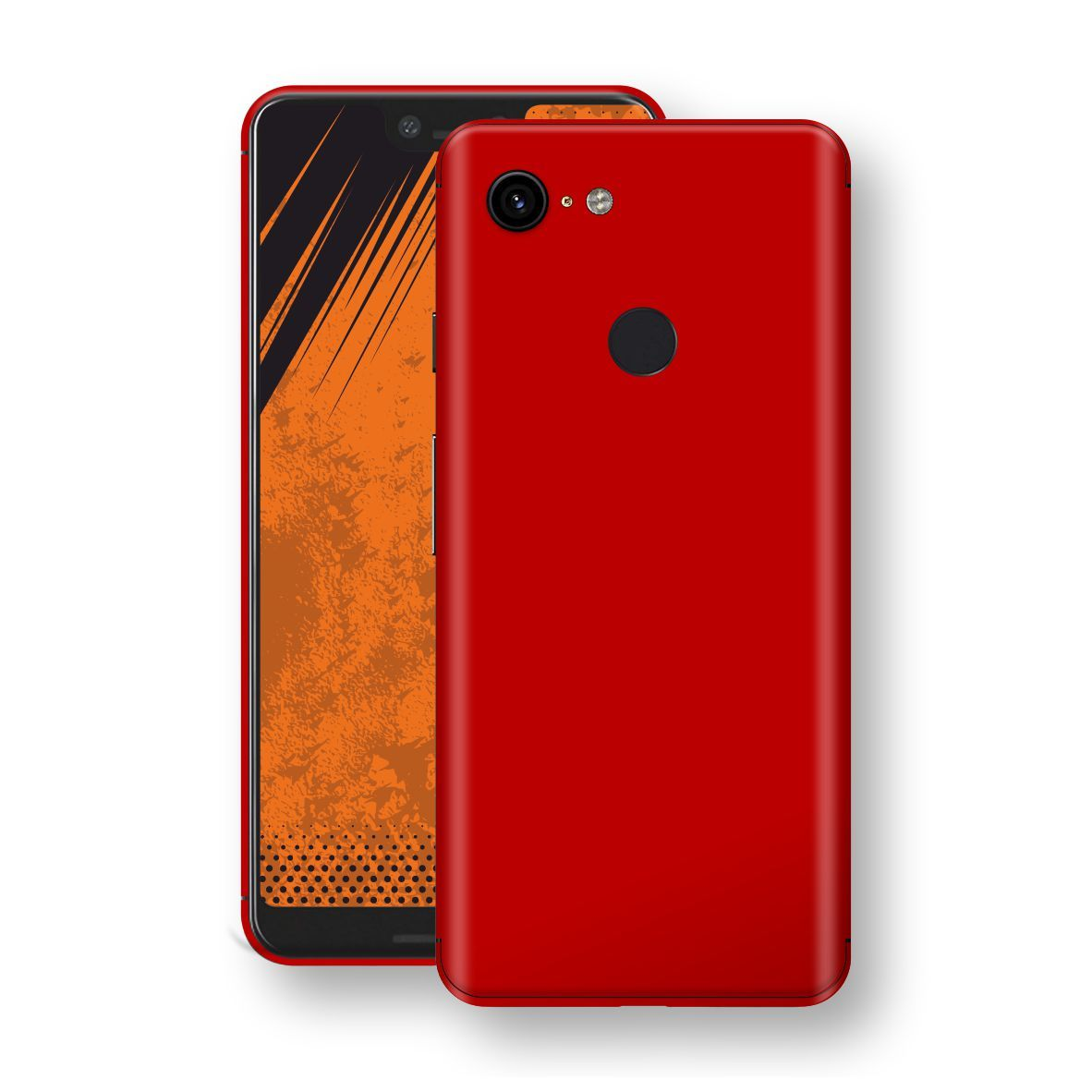 Google Pixel 3 XL Deep Red Glossy Gloss Finish Skin, Decal, Wrap, Protector, Cover by EasySkinz | EasySkinz.com