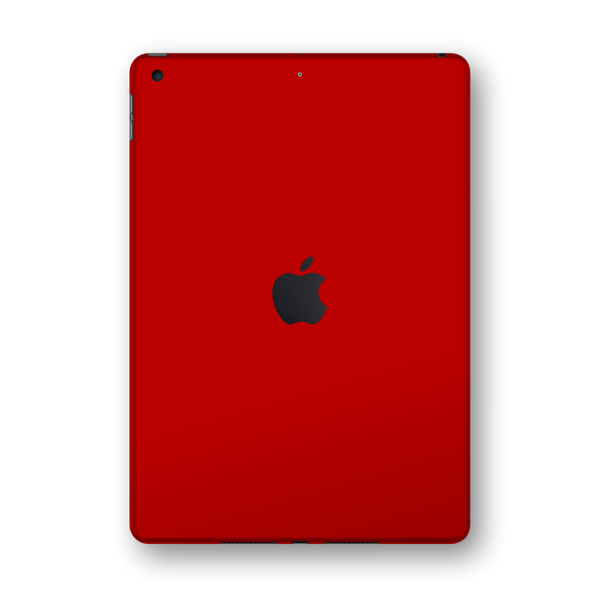 "iPad 10.2"" (7th Gen, 2019) Glossy Deep Red Skin Wrap Sticker Decal Cover Protector by EasySkinz"