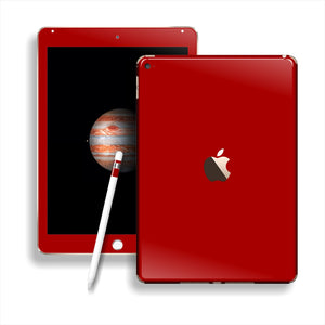 iPad PRO Glossy Deep Red Skin Wrap Sticker Decal Cover Protector by EasySkinz