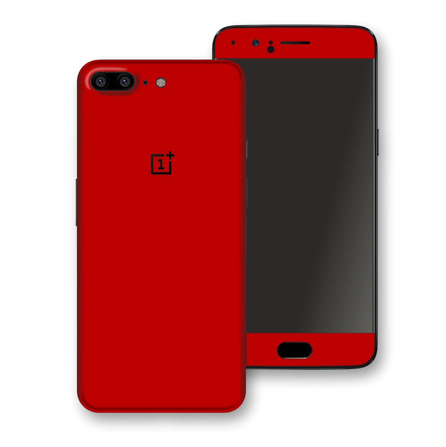 OnePlus 5 Deep Red Glossy Gloss Finish Skin, Decal, Wrap, Protector, Cover by EasySkinz | EasySkinz.com