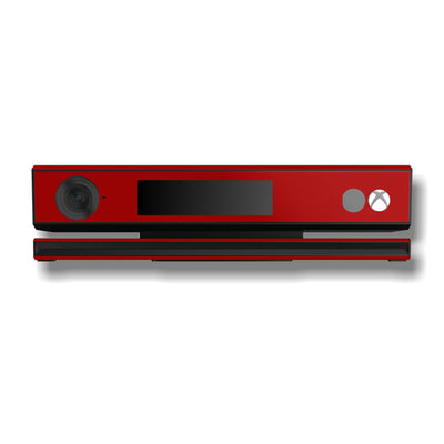 Xbox One Kinect Deep Red GLOSSY Finish Skin Wrap Sticker Decal Protector Cover by EasySkinz