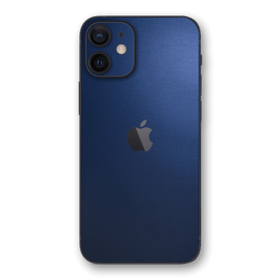 iPhone 12 mini Deep Ocean Blue Matt Skin Wrap Decal Protector | EasySkinz