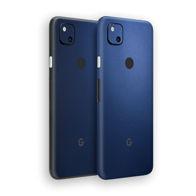 Google Pixel 4a Deep Ocean Blue Matt Skin Wrap Sticker Decal Cover Protector by EasySkinz