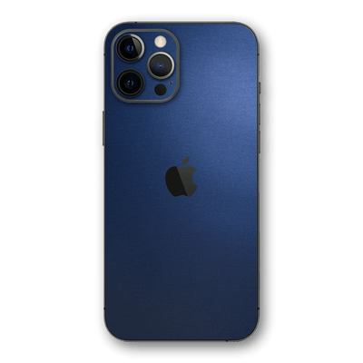 iPhone 12 PRO Deep Ocean Blue Matt Skin Wrap Decal Protector | EasySkinz