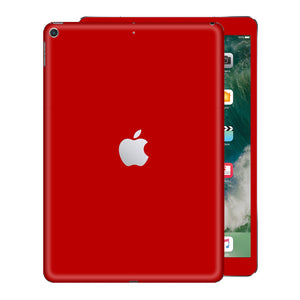 iPad 9.7 inch 2017 Glossy Deep Red Skin Wrap Sticker Decal Cover Protector by EasySkinz