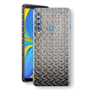 Samsung Galaxy A9 (2018) Print Custom Signature Diamond Steel Floor Plate Skin Wrap Decal by EasySkinz