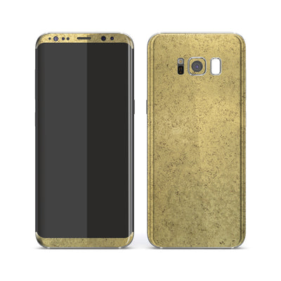 Samsung Galaxy S8 Luxuria Egyptian Gold Skin Wrap Decal Protector | EasySkinz