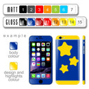 Build iPhone 6 CUSTOM COLORFUL Design Edition Skin - 017