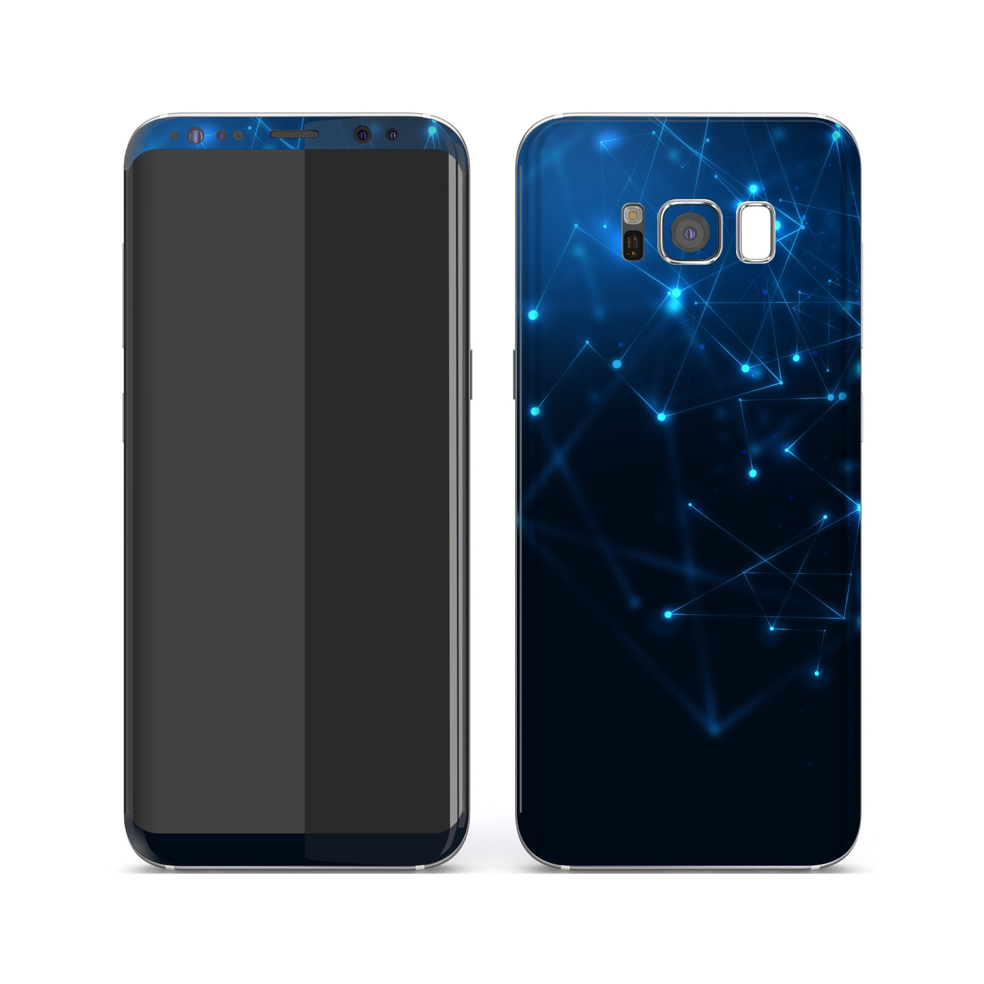 Samsung Galaxy S8+ Print Custom Signature Future Skin Wrap Decal by EasySkinz