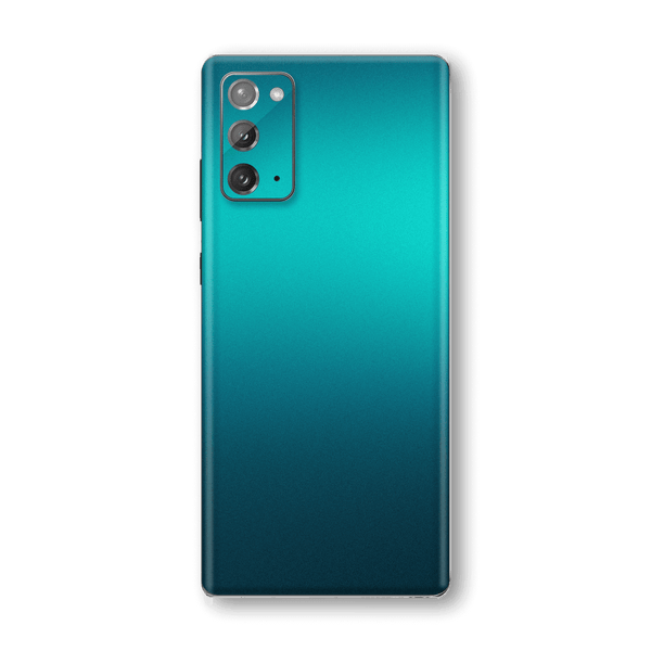Samsung Galaxy NOTE 20 Glossy Atomic Teal Metallic Skin Wrap Sticker Decal Cover Protector by EasySkinz