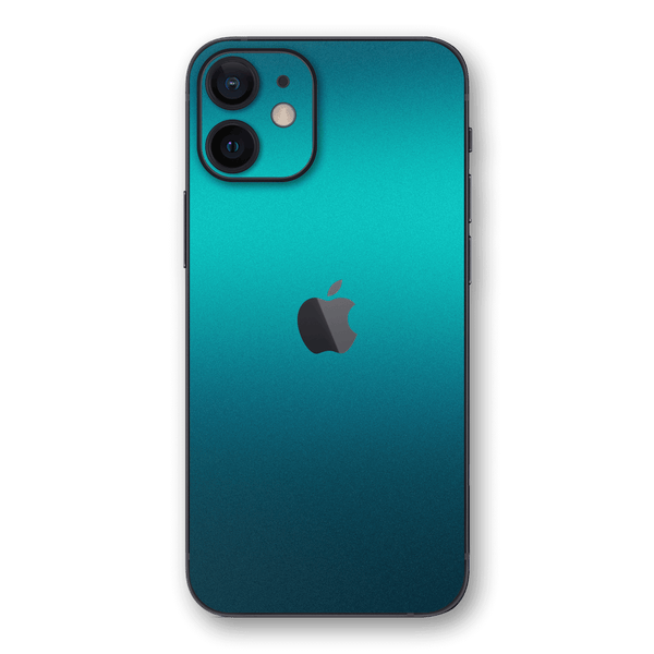 iPhone 12 Atomic Teal Metallic Gloss Finish Skin Wrap Sticker Decal Cover Protector by EasySkinz