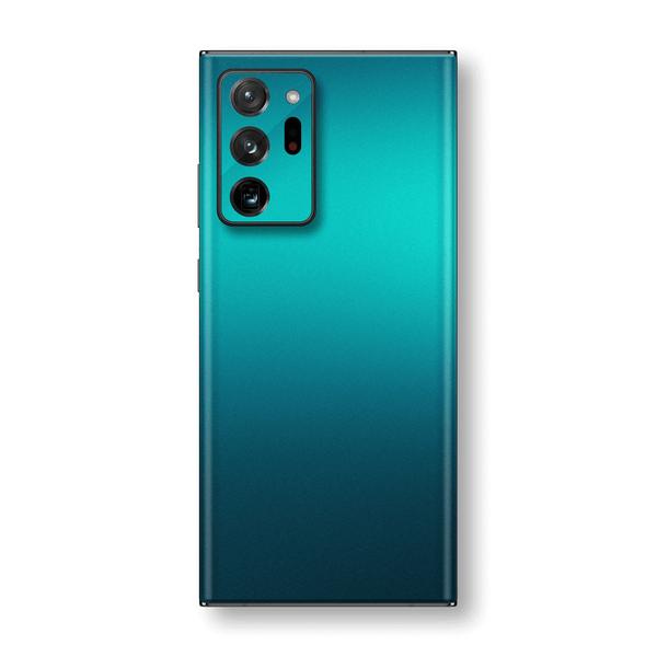 Samsung Galaxy NOTE 20 ULTRA Glossy Atomic Teal Metallic Skin Wrap Sticker Decal Cover Protector by EasySkinz