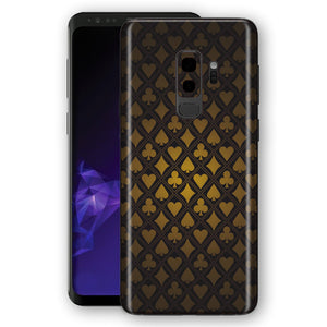 Samsung Galaxy S9+ PLUS Signature Gamble Skin, Decal, Wrap, Protector, Cover by EasySkinz | EasySkinz.com