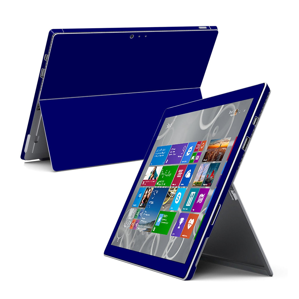 Microsoft Surface Pro 3 GLOSSY Royal Blue Skin Wrap Sticker Cover Decal Protector by EasySkinz