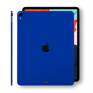 907fa8ba850d iPad PRO 12.9 inch 3rd Generation 2018 Glossy Royal Blue Skin Wrap Sticker  Decal Cover Protector