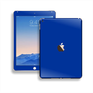 iPad Air 2 Royal Blue Glossy Skin Wrap Sticker Decal Cover Protector by EasySkinz