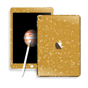 iPad PRO Diamond GOLD Glitter Shimmering Skin Wrap Sticker Decal Cover Protector by EasySkinz