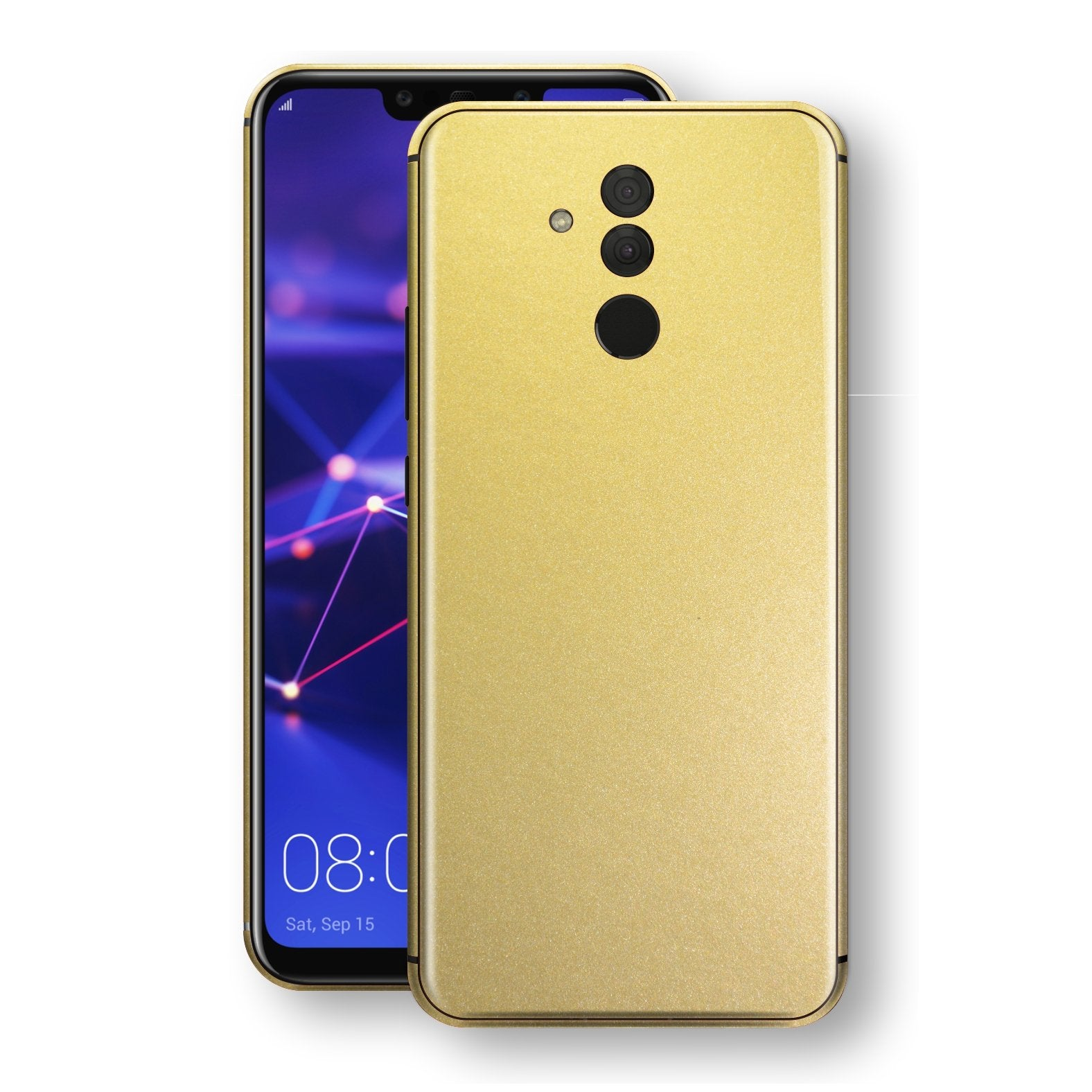 Huawei MATE 20 LITE Gold Matt Metallic Skin, Decal, Wrap, Protector, Cover by EasySkinz | EasySkinz.com
