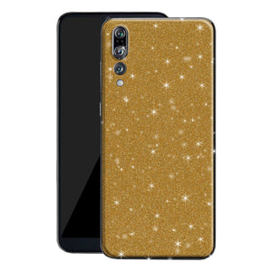 Huawei P20 PRO Diamond Gold Shimmering, Sparkling, Glitter Skin, Decal, Wrap, Protector, Cover by EasySkinz | EasySkinz.com