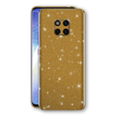 Huawei MATE 20 PRO Diamond Gold Shimmering, Sparkling, Glitter Skin, Decal, Wrap, Protector, Cover by EasySkinz | EasySkinz.com