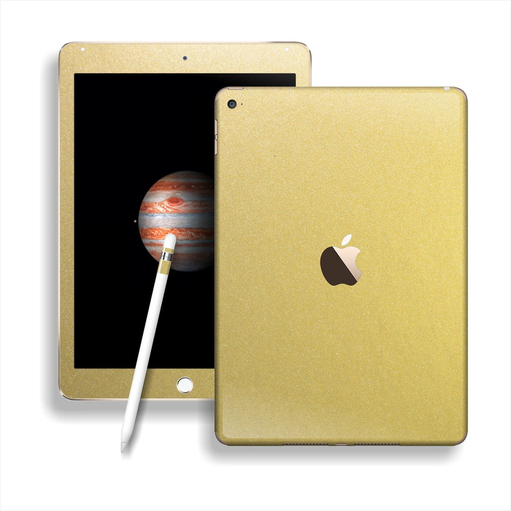 iPad PRO Matt Matte Gold Metallic Skin Wrap Sticker Decal Cover Protector by EasySkinz