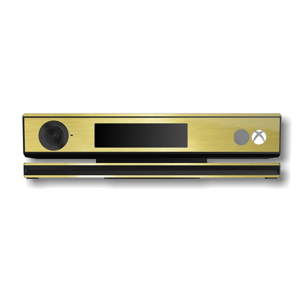 Xbox One Kinect Brushed GOLD Skin Wrap Sticker Decal Protector Cover by EasySkinz