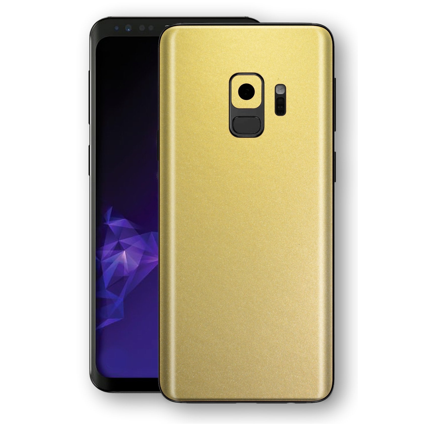 Samsung GALAXY S9 Gold Matt Metallic Skin, Decal, Wrap, Protector, Cover by EasySkinz | EasySkinz.com