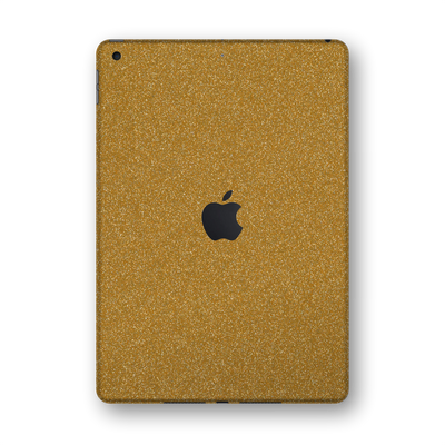 "iPad 10.2"" (8th Gen, 2020) Diamond GOLD Glitter Shimmering Skin Wrap Sticker Decal Cover Protector by EasySkinz"
