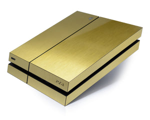 ps4 brushed gold skin
