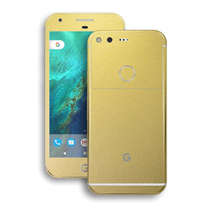 Google Pixel Gold Matt Metallic Skin by EasySkinz