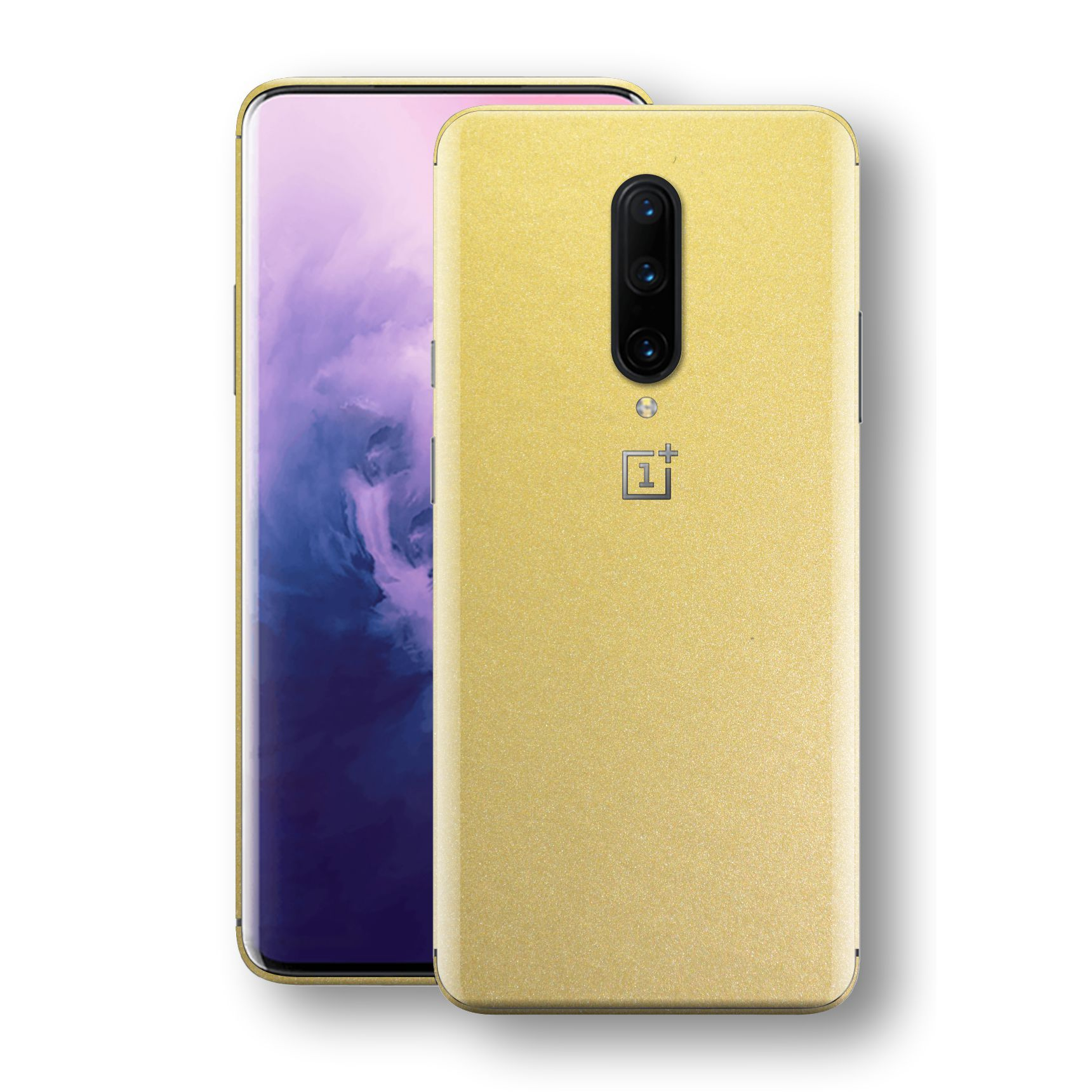 OnePlus 7 PRO Gold Matt Metallic Skin, Decal, Wrap, Protector, Cover by EasySkinz | EasySkinz.com