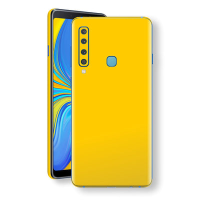 Samsung Galaxy A9 (2018) Golden Yellow Glossy Gloss Finish Skin, Decal, Wrap, Protector, Cover by EasySkinz | EasySkinz.com