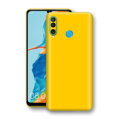 Huawei P30 LITE Golden Yellow Glossy Gloss Finish Skin, Decal, Wrap, Protector, Cover by EasySkinz | EasySkinz.com