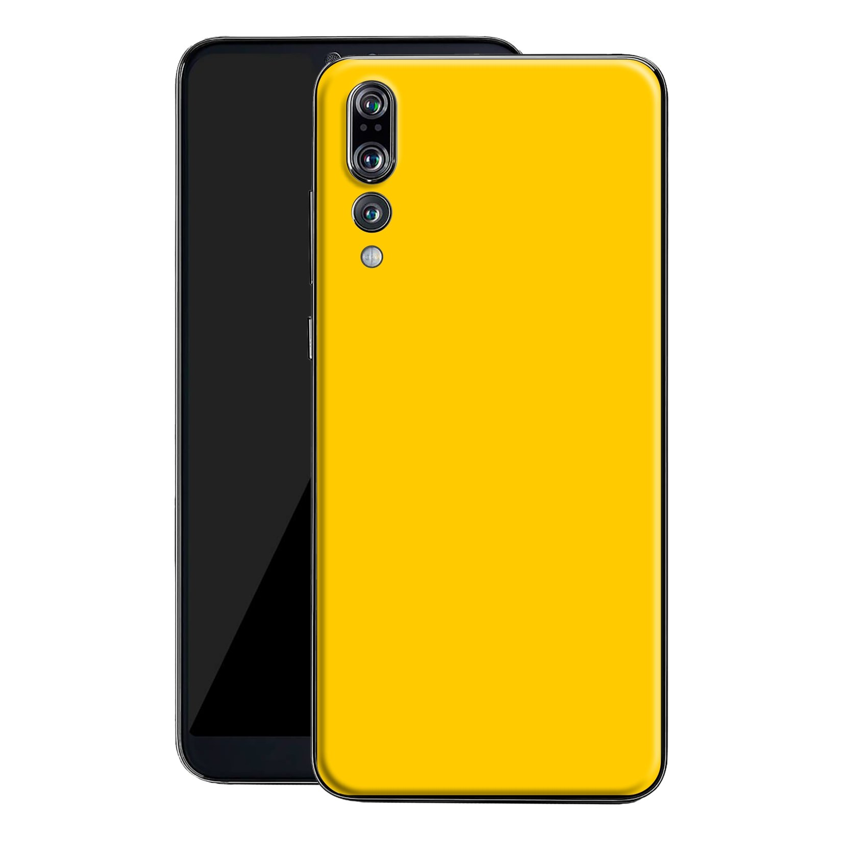 Huawei P20 PRO Golden Yellow Glossy Gloss Finish Skin, Decal, Wrap, Protector, Cover by EasySkinz | EasySkinz.com
