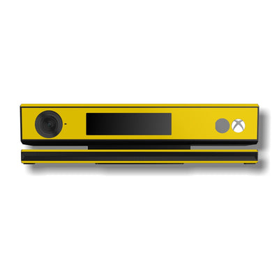 Xbox One Kinect Golden Yellow GLOSSY Finish Skin Wrap Sticker Decal Protector Cover by EasySkinz