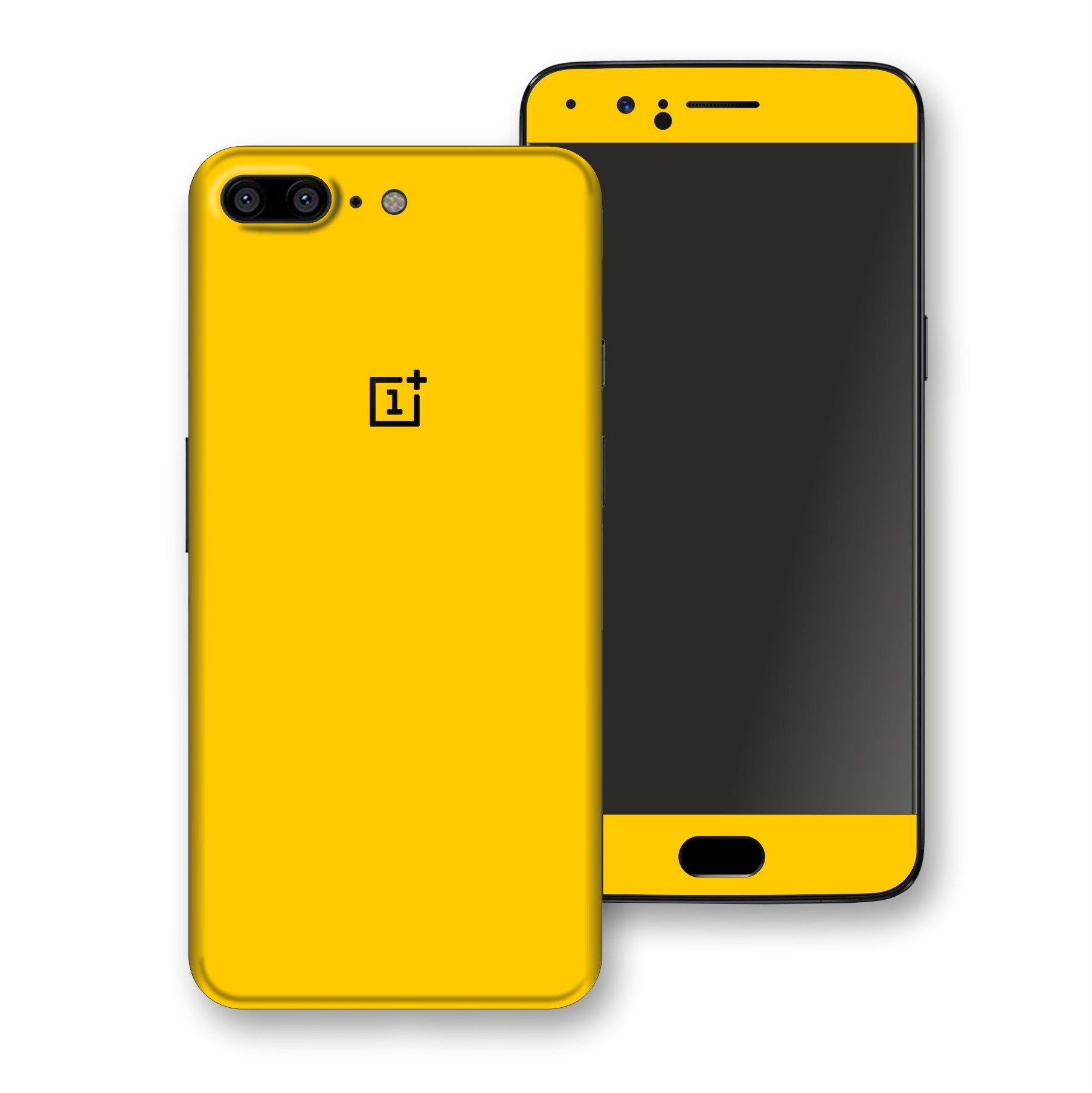 OnePlus 5 Golden Yellow Glossy Gloss Finish Skin, Decal, Wrap, Protector, Cover by EasySkinz | EasySkinz.com