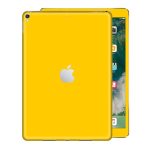 iPad PRO 10.5 inch 2017 Glossy Golden Yellow Skin Wrap Sticker Decal Cover Protector by EasySkinz