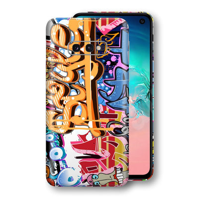 Samsung Galaxy S10e Print Custom Signature Graffiti Skin Wrap Decal by EasySkinz