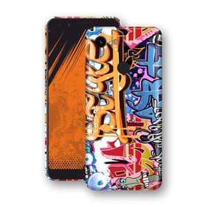 Google Pixel 3 Print Custom Signature Graffiti Skin Wrap Decal by EasySkinz