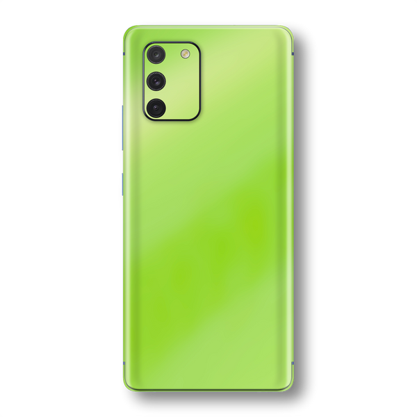 Samsung Galaxy S10 LITE Apple Green Pearl Gloss Finish Skin Wrap Sticker Decal Cover Protector by EasySkinz