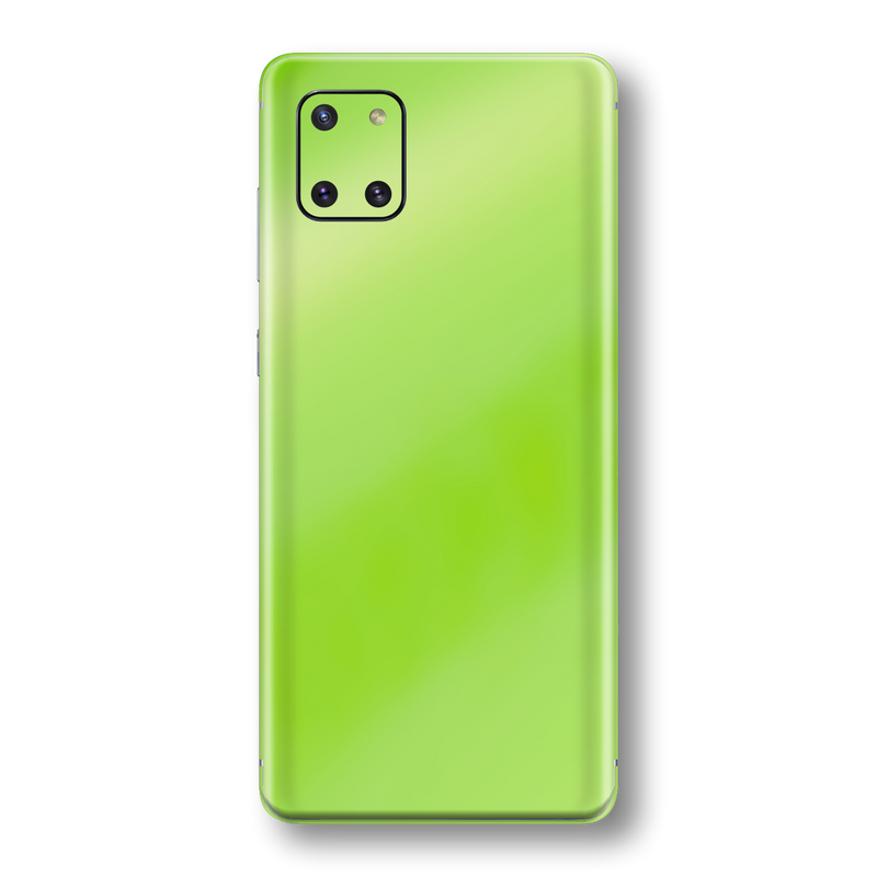 Samsung Galaxy NOTE 10 LITE Apple Green Pearl Gloss Finish Skin Wrap Sticker Decal Cover Protector by EasySkinz