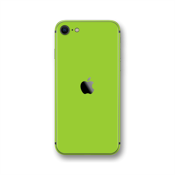 iPhone SE (2020) Green Matt Skin Wrap Sticker Decal Cover Protector by EasySkinz