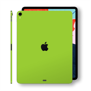 iPad PRO 12.9 inch 3rd Generation 2018 Matt Matte Green Skin Wrap Sticker Decal Cover Protector by EasySkinz