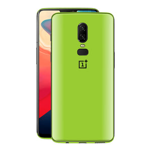 OnePlus 6 Green Matt Skin, Decal, Wrap, Protector, Cover by EasySkinz | EasySkinz.com