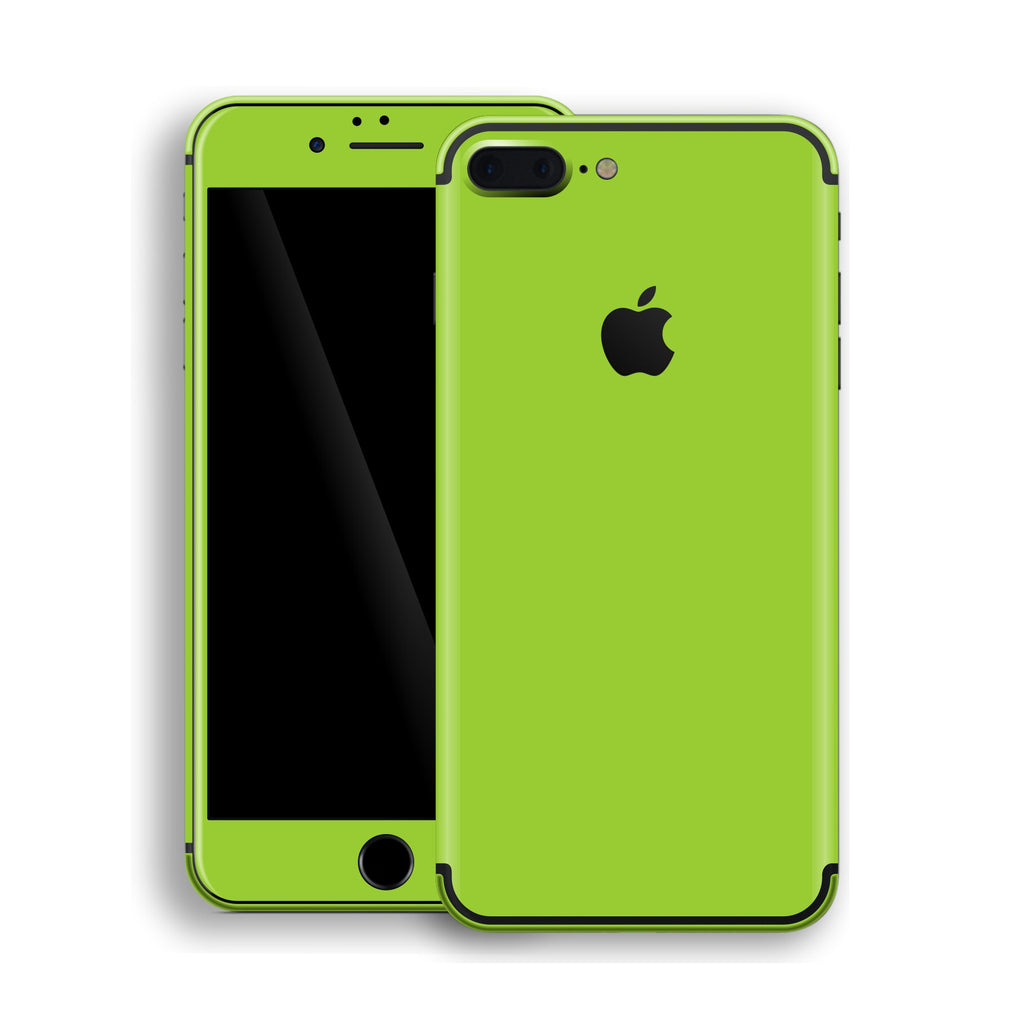 iPhone 7 Plus Green Matt Skin, Decal, Wrap, Protector, Cover by EasySkinz | EasySkinz.com