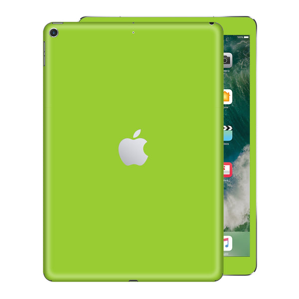 iPad 9.7 inch 2017 Matt Matte Green Skin Wrap Sticker Decal Cover Protector by EasySkinz